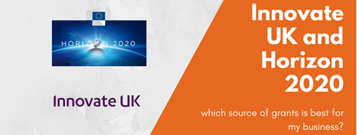 Innovate UK and Horizon 2020 – which is best?
